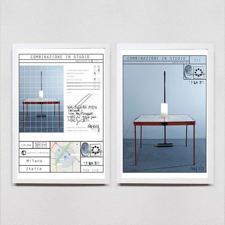 Tavolino e lampada, da rifiuti ad opera d'arte di Maurizio Feo