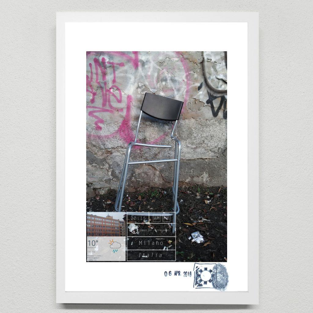 Arte minimalista e combinazioni urbane. A milano opere dell'artista Maurizio DI Feo