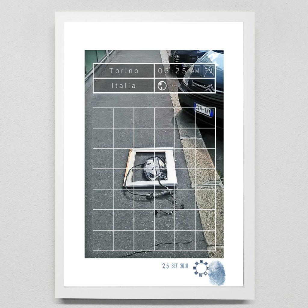 Foto d'arte di strada. Arte concettuale a torino di Maurizio Di Feo