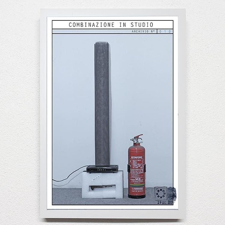 Arte con estintore e modem. Maurizio Di Feo e le combinazioni urbane