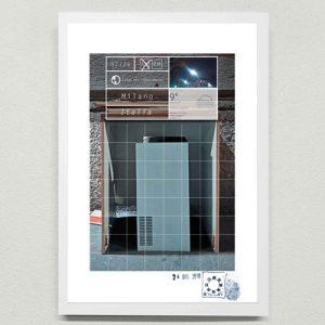 Installazione d'arte contemporanea. Maurizio Di Feo