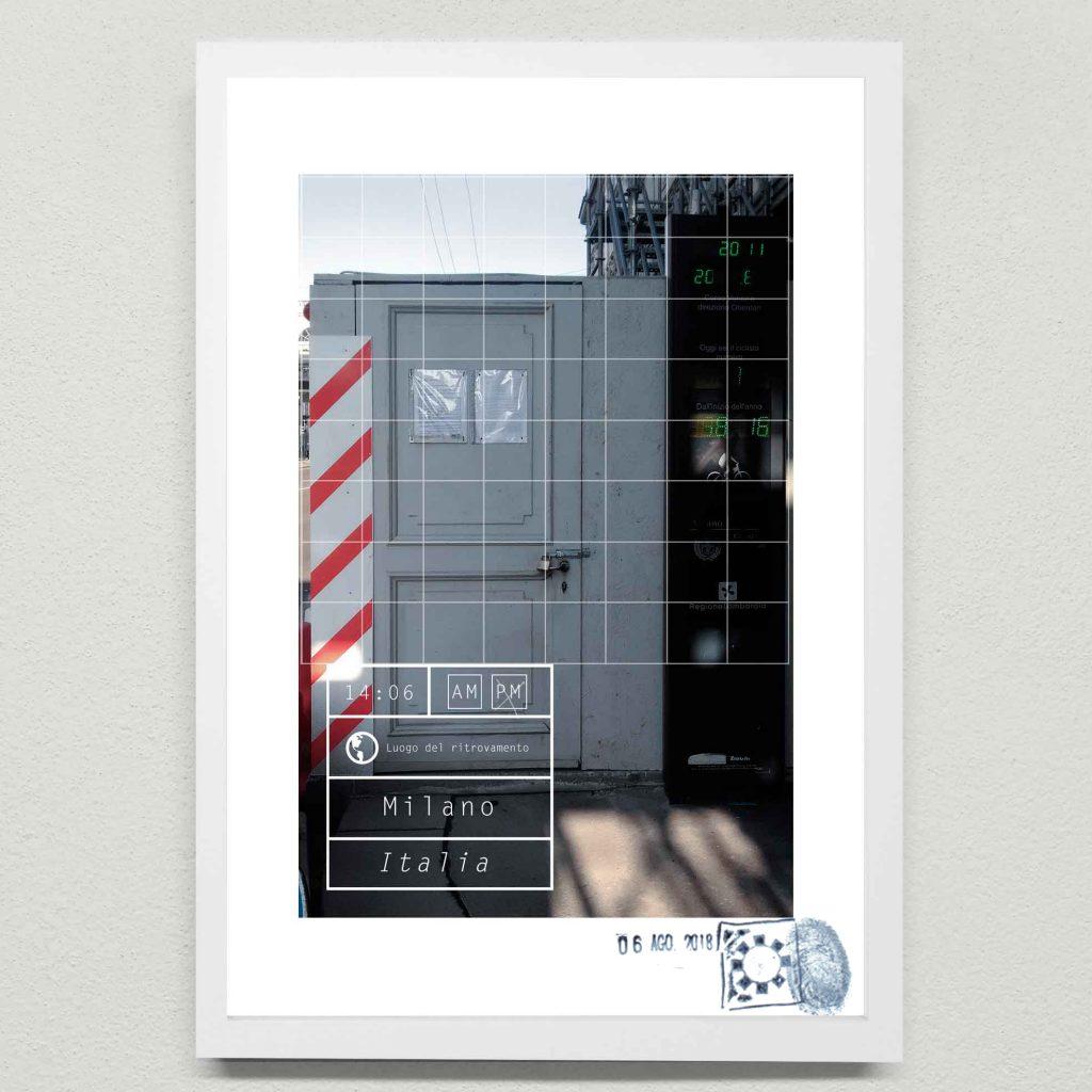 Installazione urbana casuale. Arte urbana e digitale di Maurizio Di Feo