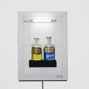 Scultura luminosa, Placebo arte. Maurizio DiFeo