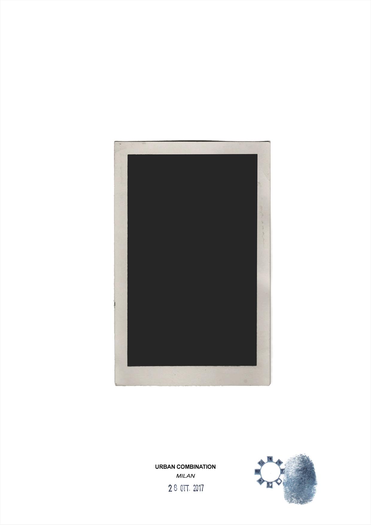 Arte contemporanea dell'artista Maurizio Di Feo. Combinazione in studio con vecchia fotografia dipinta in acrilico. Milano.