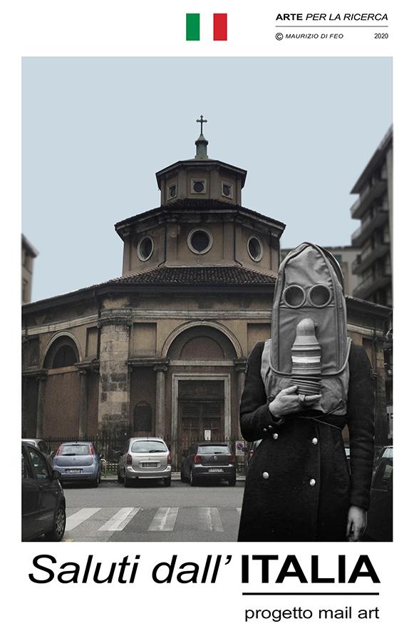 Saluti dall'Italia - arte contemporanea Maurizio Di Feo. Devoluto coronavirus